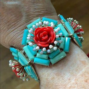 J CREW ✨ Floral Bracelet